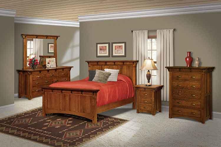 Amish Custom Bedroom Manitoba Chest MN 445D 2Amish Made Bedroom Furniture  Amish Custom Furniture