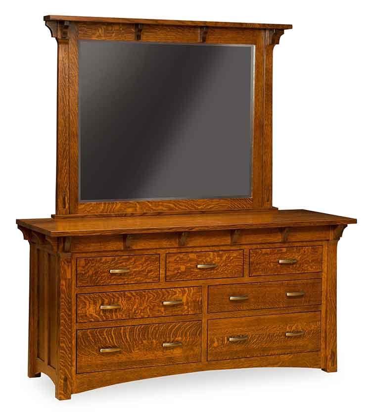 Amish Custom Bedroom Manitoba Dresser MN 687DAmish Made Bedroom Dressers  Amish Custom Furniture