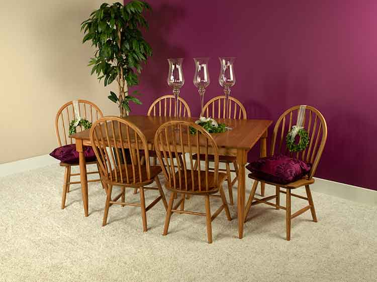 tradition Amish made dining chairs