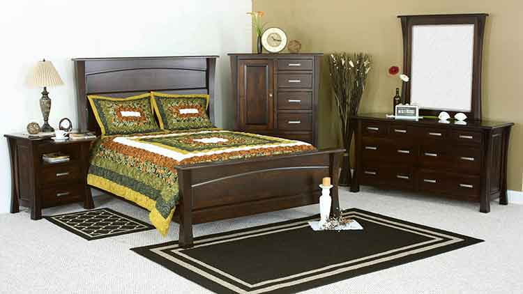 Amish Made Beds   Amish Custom Furniture SF Amish Custom Bedroom Vandalia. Custom Bedroom Furniture. Home Design Ideas