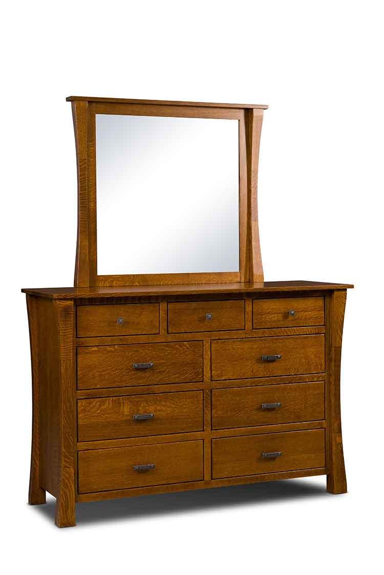 Bedroom Furniture Dresser Amish Made Bedroom Dressers Amish Custom Furniture