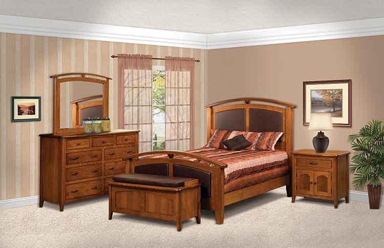 Amish Made Bedroom Furniture Amish Custom Furniture