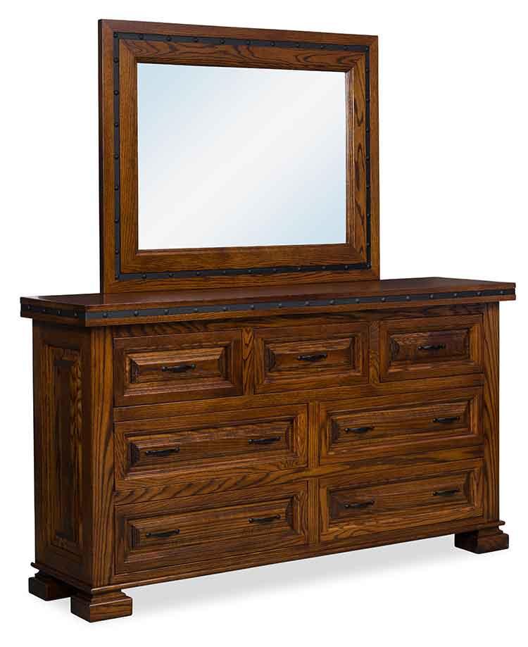 Bedroom Sets El Paso amish made bedroom dressers - amish custom furniture