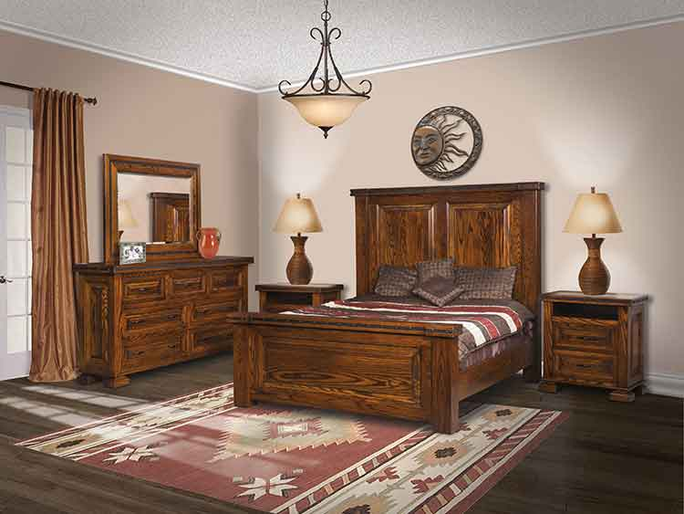 Bedroom Furniture El Paso amish made bedroom furniture - amish custom furniture