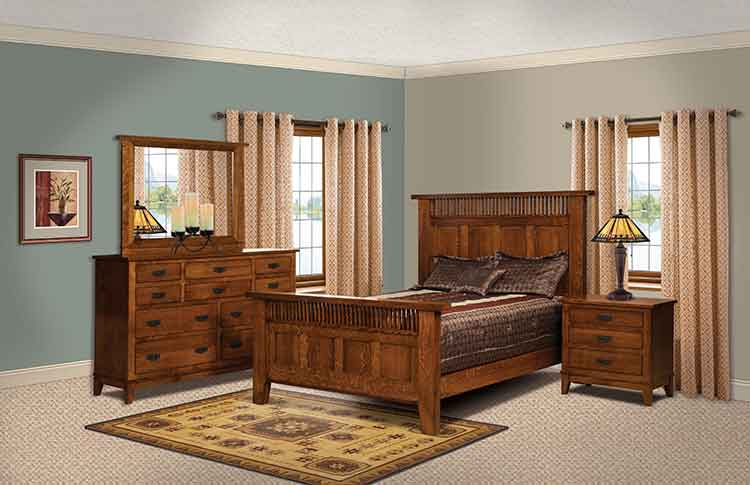 Amish Made Bedroom Furniture - Amish Custom Furniture