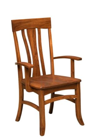 Amish-Custom-Dining-Chairs-Rainier-Side 1
