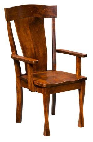 Amish-Custom-Dining-Chairs-Woodland-Side-Chair 1