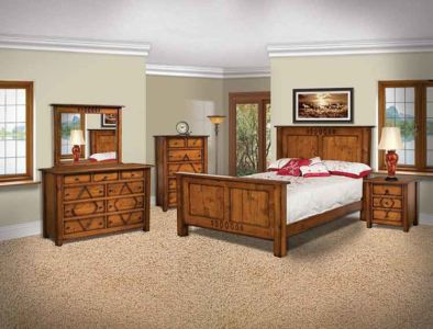 Amish Made Bedroom Furniture   Amish Custom Furniture BS Amish Custom Bedroom Furniture Diamond Mission Bedroom . Custom Bedroom Furniture. Home Design Ideas