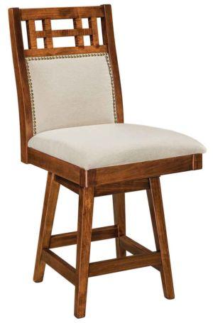FN-Amish-Custom-Chairs-Buckingham-Stool 1