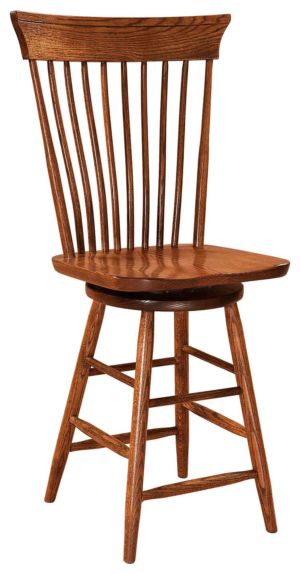 FN-Amish-Custom-Chairs-Concord-Stool 1
