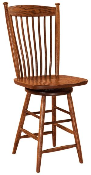FN-Amish-Custom-Chairs-EastonShaker-Stool 1