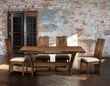 FN-Amish-Custom-Chairs-Evergreen-Side 3