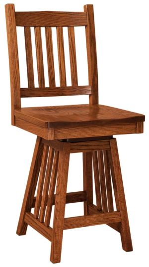 FN-Amish-Custom-Chairs-Mission-Stool 1