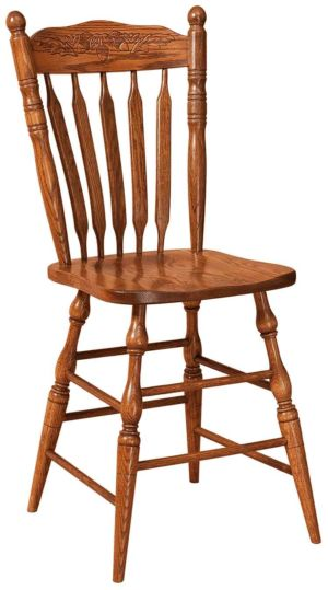 FN-Amish-Custom-Chairs-Northern-Acorn-Stool