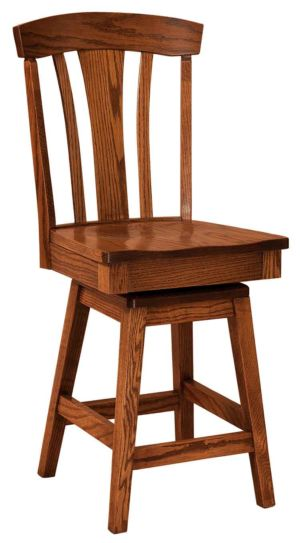 FN-Amish-Custom-Chairs-Parkway-Stool 1