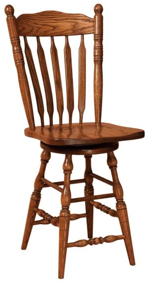 FN-Amish-Custom-Chairs-Post-Paddle-Stool 1