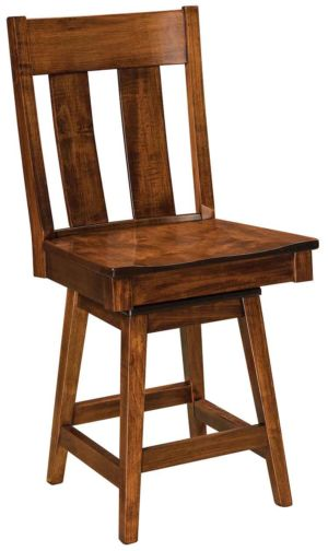 FN-Amish-Custom-Chairs-Rochelle-Stool 1