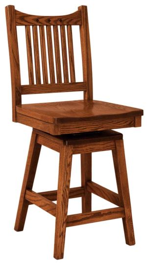 FN-Amish-Custom-Chairs-Royal-Mission-Stool 1