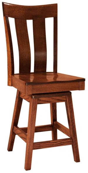 FN-Amish-Custom-Chairs-Sherwood-Stool 1