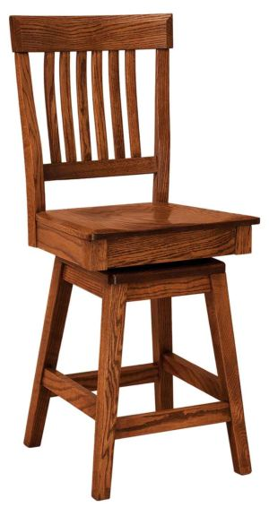 FN-Amish-Custom-Chairs-Ventura-Stool 1