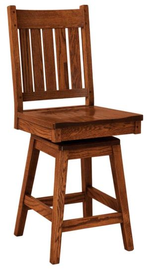 FN-Amish-Custom-Chairs-Williamsburg-Stool 1