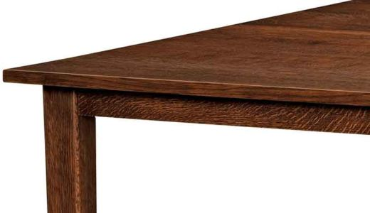 NW-Amish-Custom-Tables-L-204-Shaker-Mission-straight-skirt