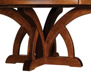 NW-Amish-Custom-Tables-S-505-Brooklyn-Pedestal 1