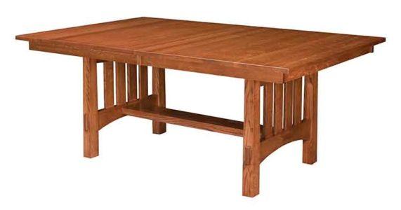 NW-Amish-Custom-Tables-T-58-Modesto-Set 1
