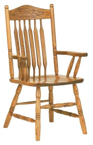 RH-Amish-Custom-Chairs-BentPaddlePost-Chair 1