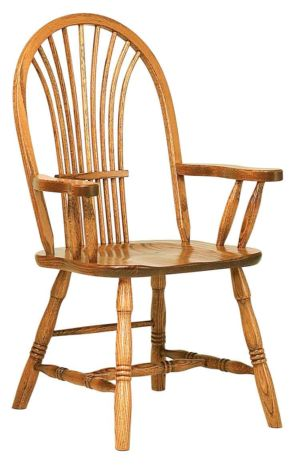 RH-Amish-Custom-Chairs-CountrySheaf-Chair 1
