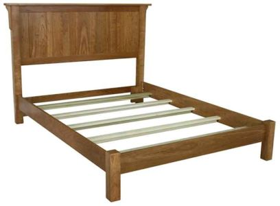 SF-Amish-Custom-Bedroom-Low-Foot-Board-Bed