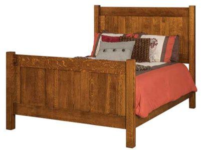 SF-Amish-Custom-Bedroom-Shaker-3-panel-Bed