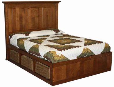 SF-Amish-Custom-Bedroom-Storage-Bed-Basket