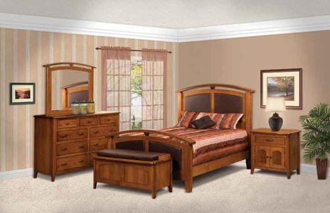 SUN-Amish-Bedroom-Furniture-Cascade-Bed-F-05 1