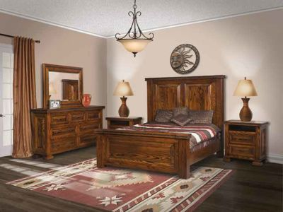 SUN-Amish-Bedroom-Furniture-El-Paso-King-Bed 1