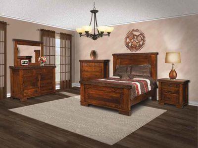 SUN-Amish-Bedroom-Furniture-Monta-Vista-9-Drawer-Dresser-and-Mirror 1