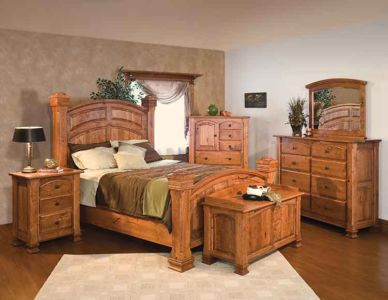 SW-Amish-Custom-Bedroom-Charleston-Bed 1
