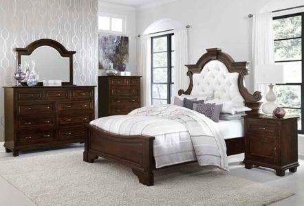 SW-Amish-Custom-Bedroom-Francine-Bed 1