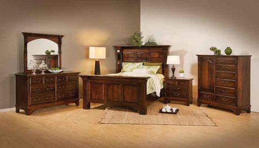 SW-Amish-Custom-Bedroom-Hamilton-Court-4Drw-Nightstand 1
