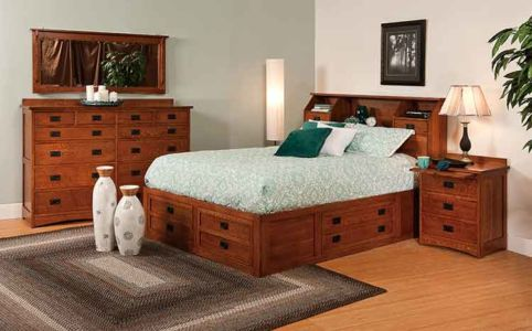 SW-Amish-Custom-Bedroom-Jacobson-Bed 1