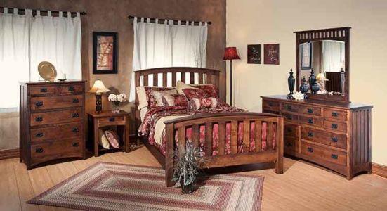 SW-Amish-Custom-Bedroom-Kountry-Mission-Bed 1