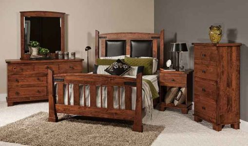 SW-Amish-Custom-Bedroom-Larado-Bed 1