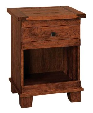 SW-Amish-Custom-Bedroom-Laredo-1Drw-Open-Nightstand