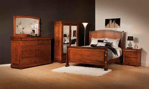 SW-Amish-Custom-Bedroom-Marshfield-WoodPanel-Bed 1