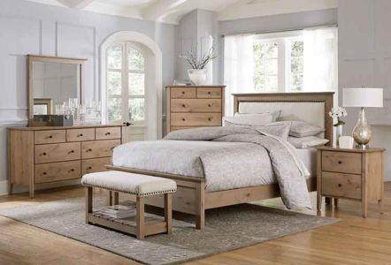 SW-Amish-Custom-Bedroom-Medina-Bed-Knotty-Alder 1