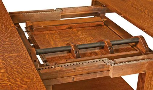 WP-Amish-Custom-Tables-Arts-&-Crafts-Cabinet-Table 2