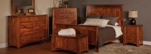amish bedroom furniture set